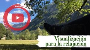Descansando en la pradera de Ordesa-Huesca